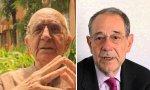 Federico Sopeña y Javier Solana
