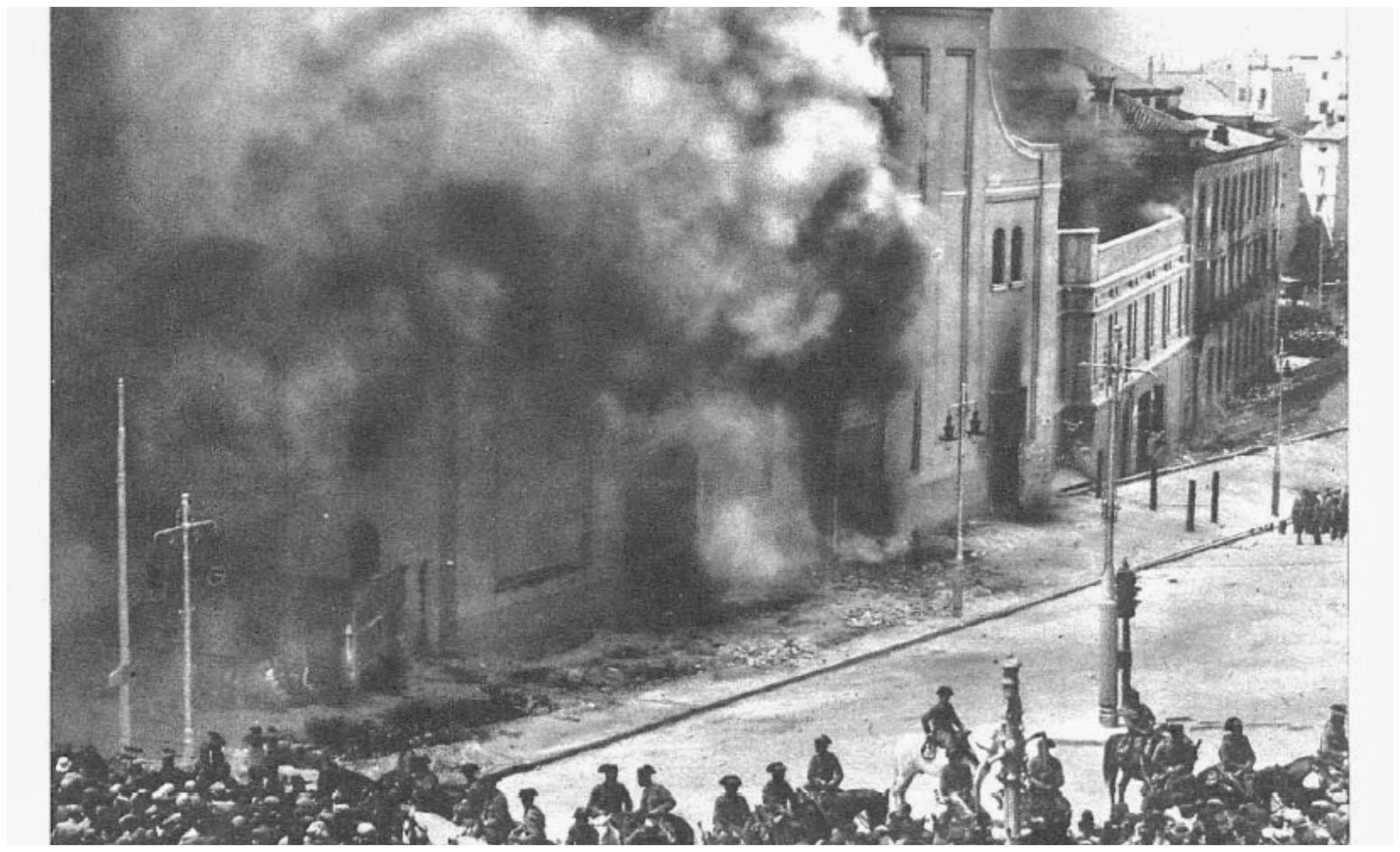 La barbarie religiosa no comenzó en 1936, sino en 1931, recién estrenada la II República