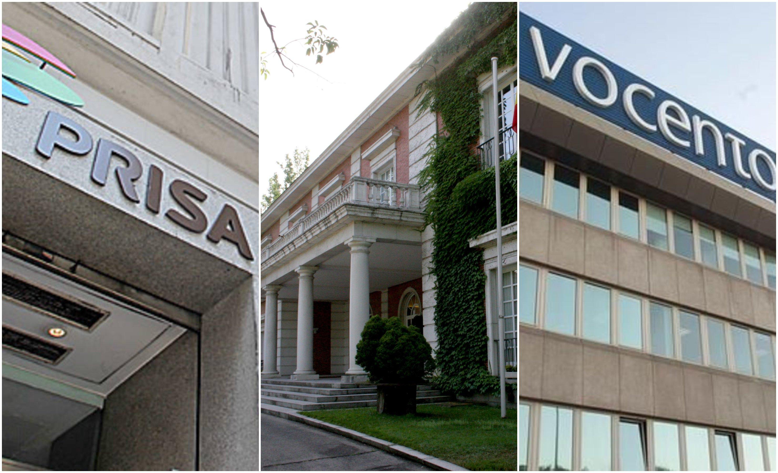 Moncloa, sede 'El País', sede 'ABC'