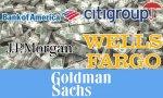JP Morgan, Bank of America, Wells Fargo y Citigroup mejoran sus resultados, Goldman Sachs los empeora
