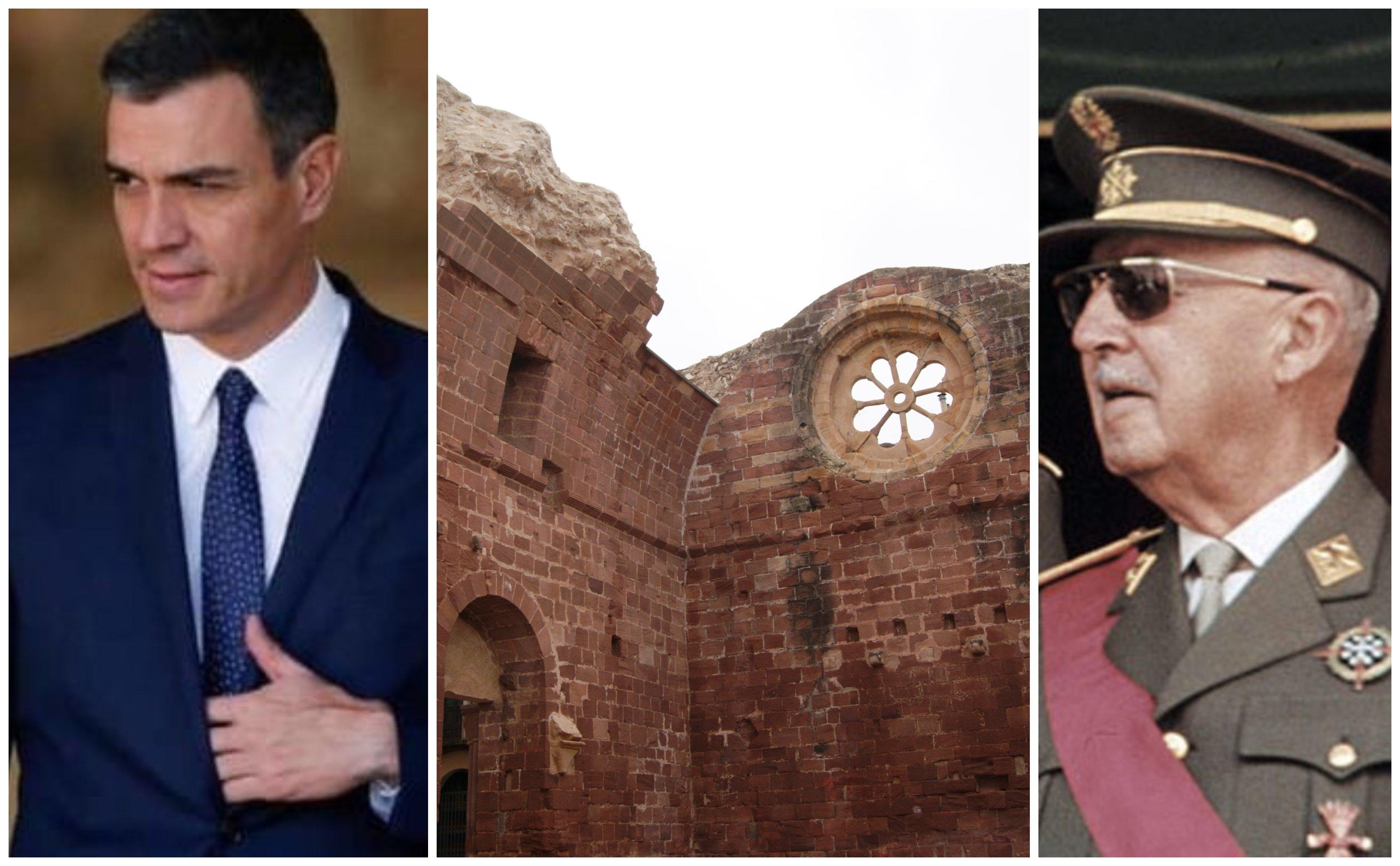Sánchez, iglesia afectada por la Guerra Civil y Franco