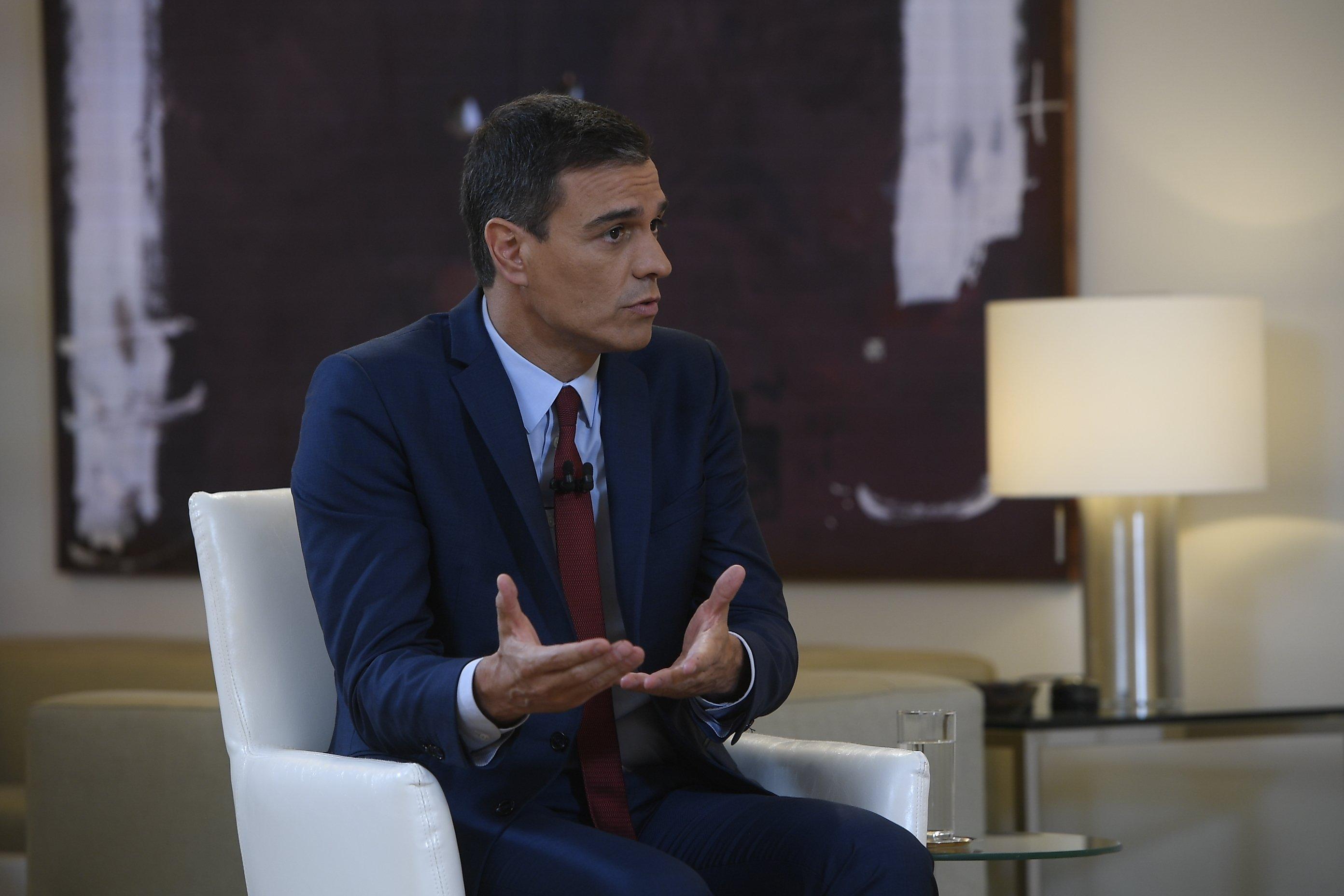 Pedro Sánchez pide que no se bloquee la investidura, no por él, sino por España