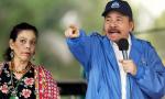 El dictador Daniel Ortega y su mujer, Rosario Murillo