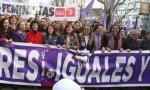 Ministras en la manifestación del 8 m