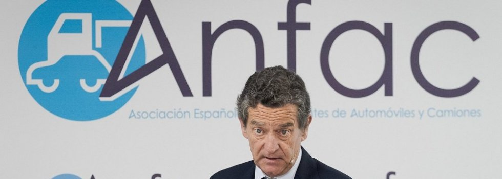 Mario Armero, vicepresidente de Anfac, en la presentación del Informe Anual 2018
