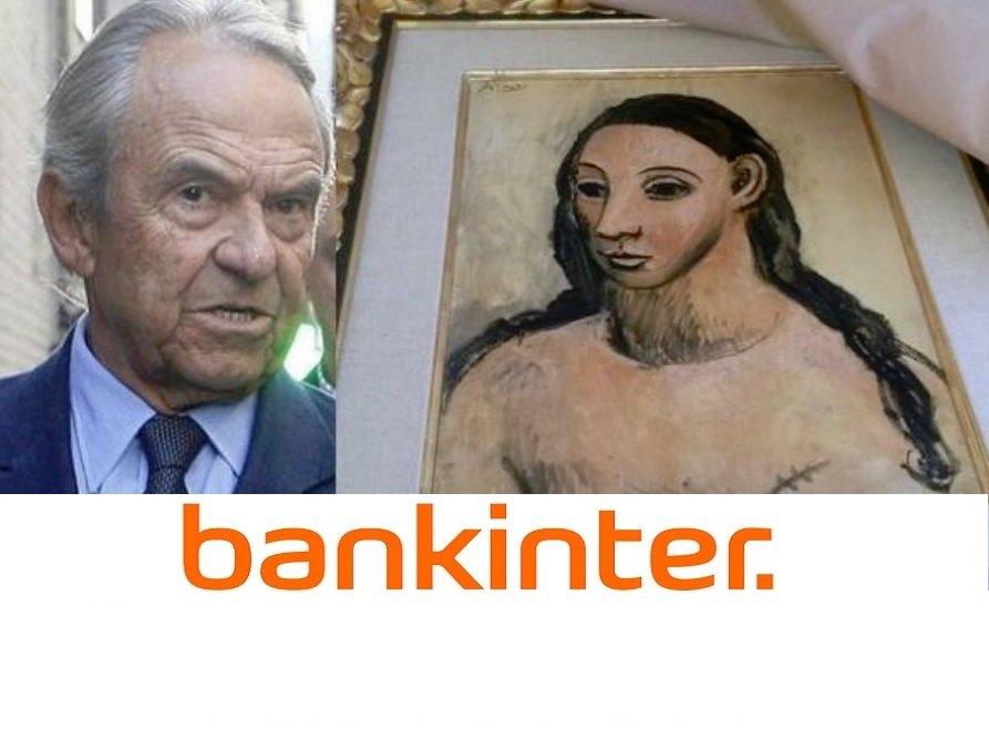 Jaime Botín, principal accionista de Bankinter, acusado de contrabando con el cuadro 'Cabeza de mujer joven' de Picasso