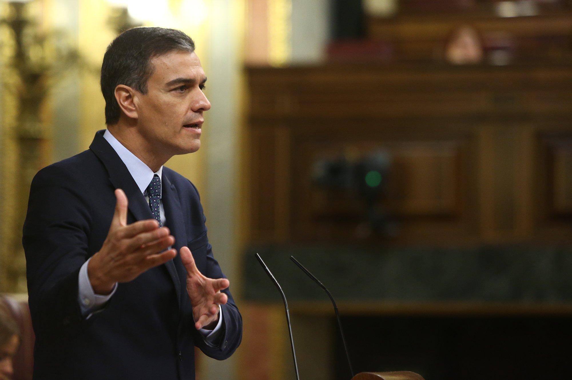 Pedro Sánchez, presidente en funciones