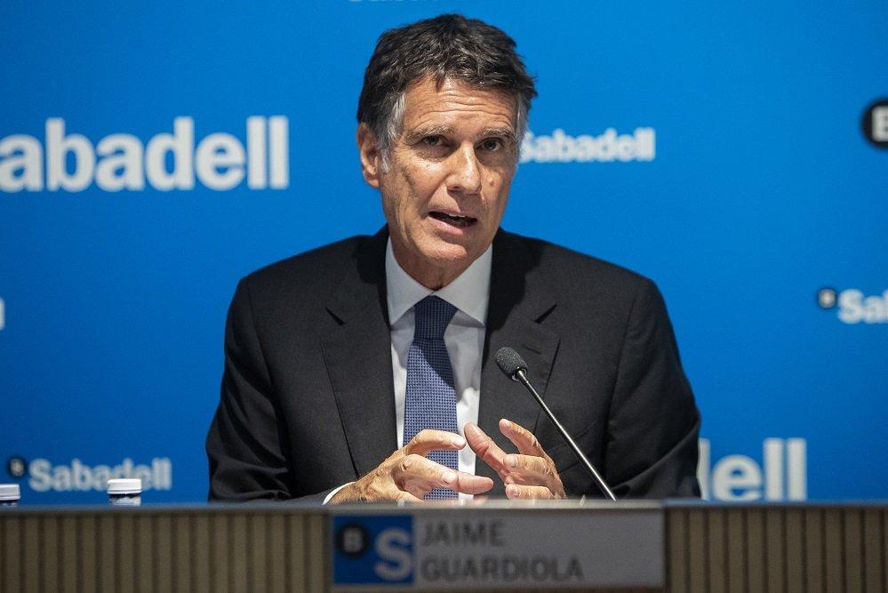 Jaime Guardiola, CEO del Banco Sabadell