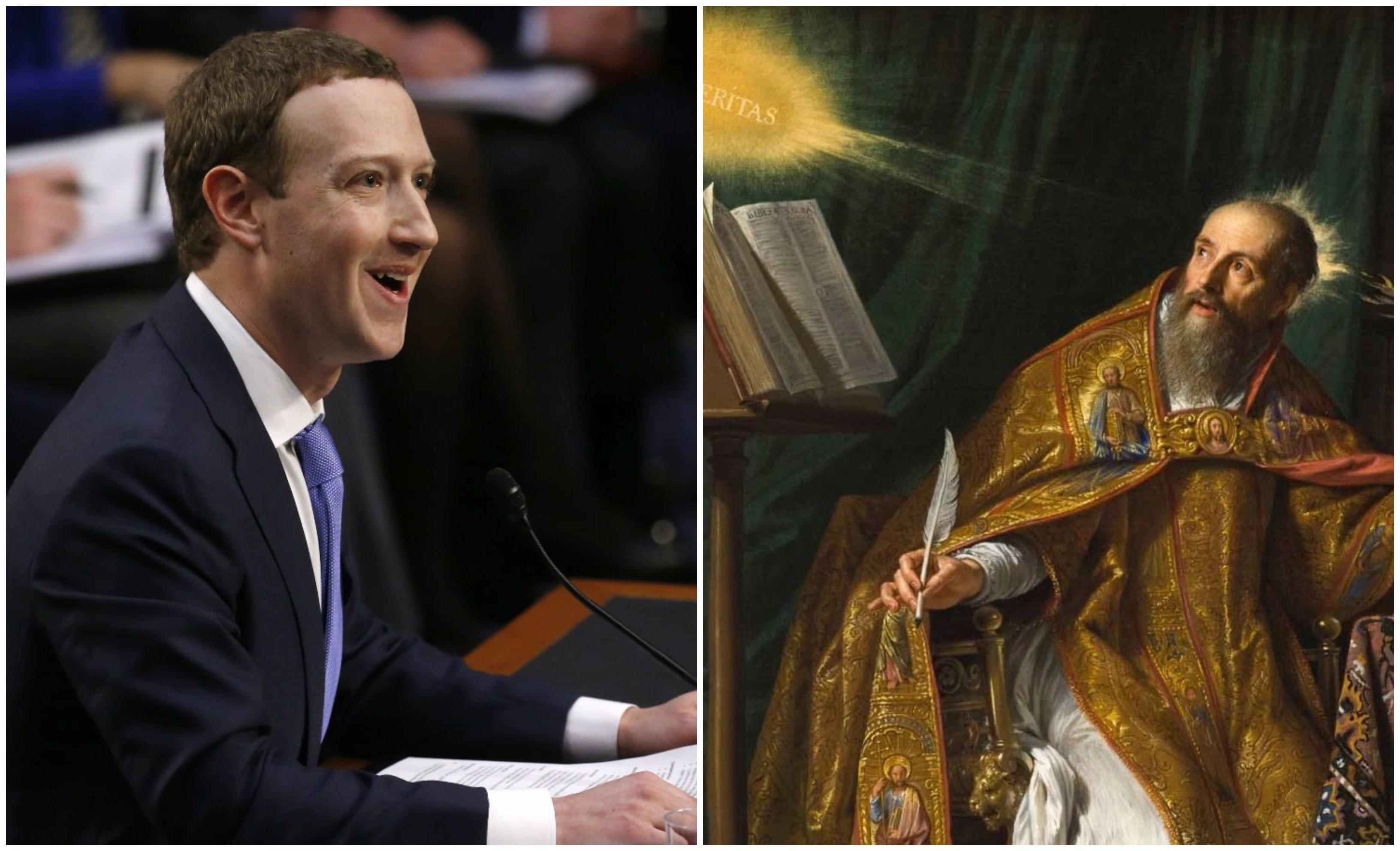Zuckerberg y San Agustín