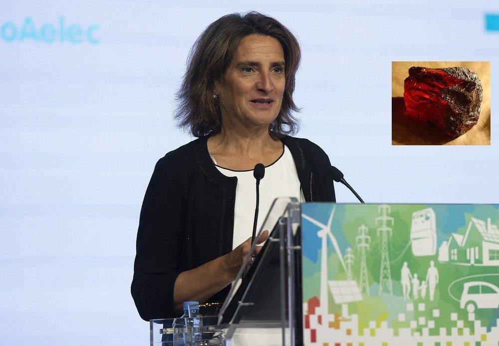 La ministra de Transición Ecológica en funciones, Teresa Ribera, la más ecologista del Gabinete Sánchez
