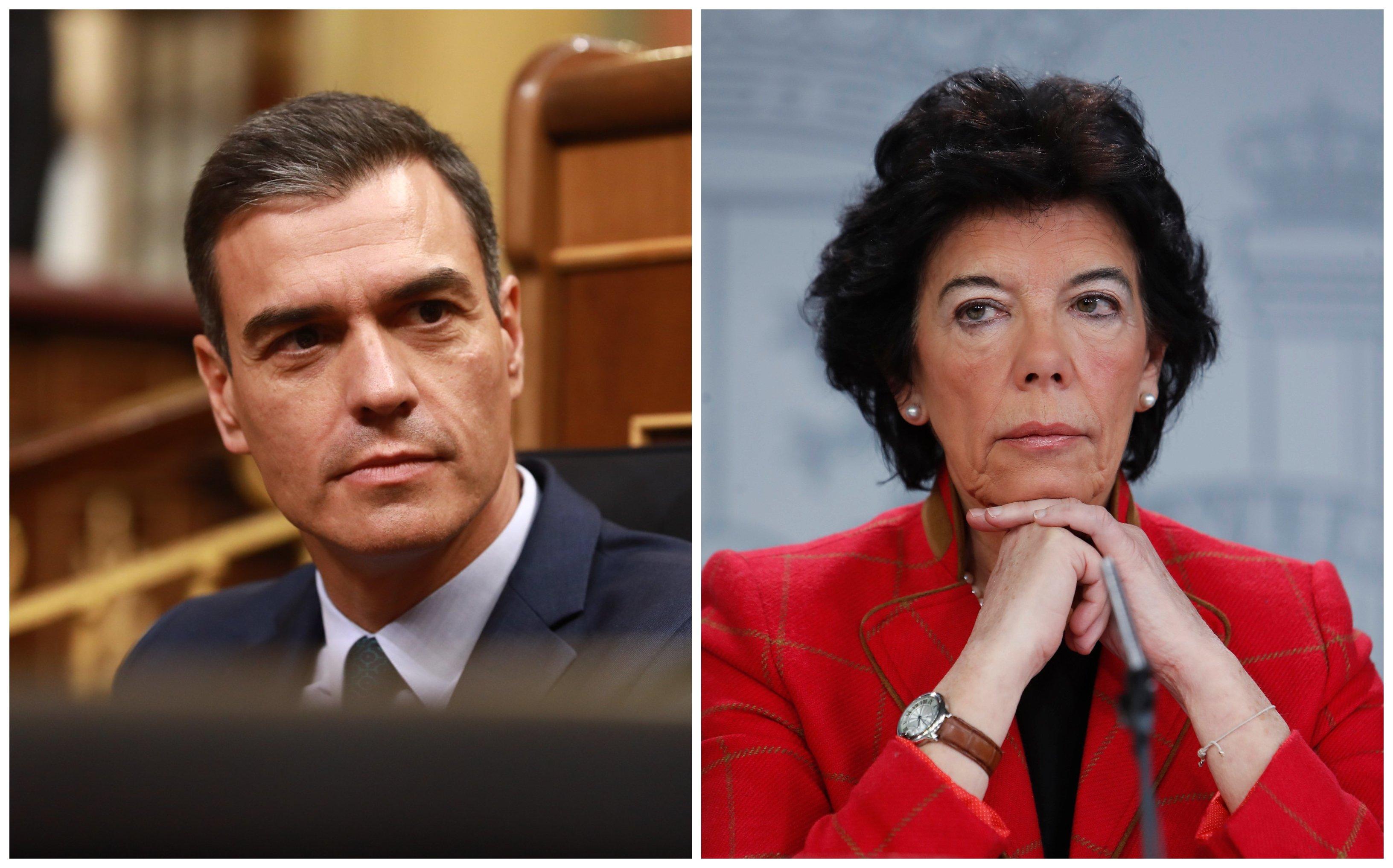 Pedro Sánchez e Isabel Celaá humillan a la educación concertada