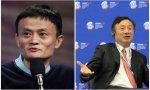 Los dueños de dos grandes compañías chinas, Alibaba y Huawei