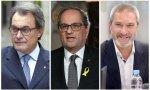 Artur Mas, Quim Torra y Josep Ramon Bosch