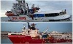 Los barcos Open Arms y Ocean Viking siguen esperando puerto para desembarcar a 463 migrantes rescatados