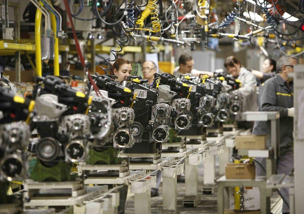 La variación anual del Índice de Precios Industriales sube un punto, hasta el -0,8%, en enero