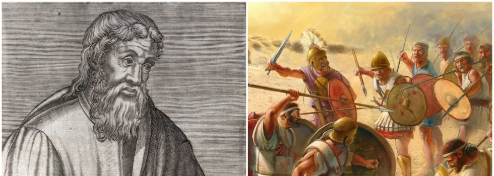 El historiador griego Estrabón, nacido en el siglo  1, consideraba que lo más fácil del mundo era enrolar a unas tribus (hispanas) contra otras