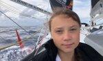Greta navega a Nueva York