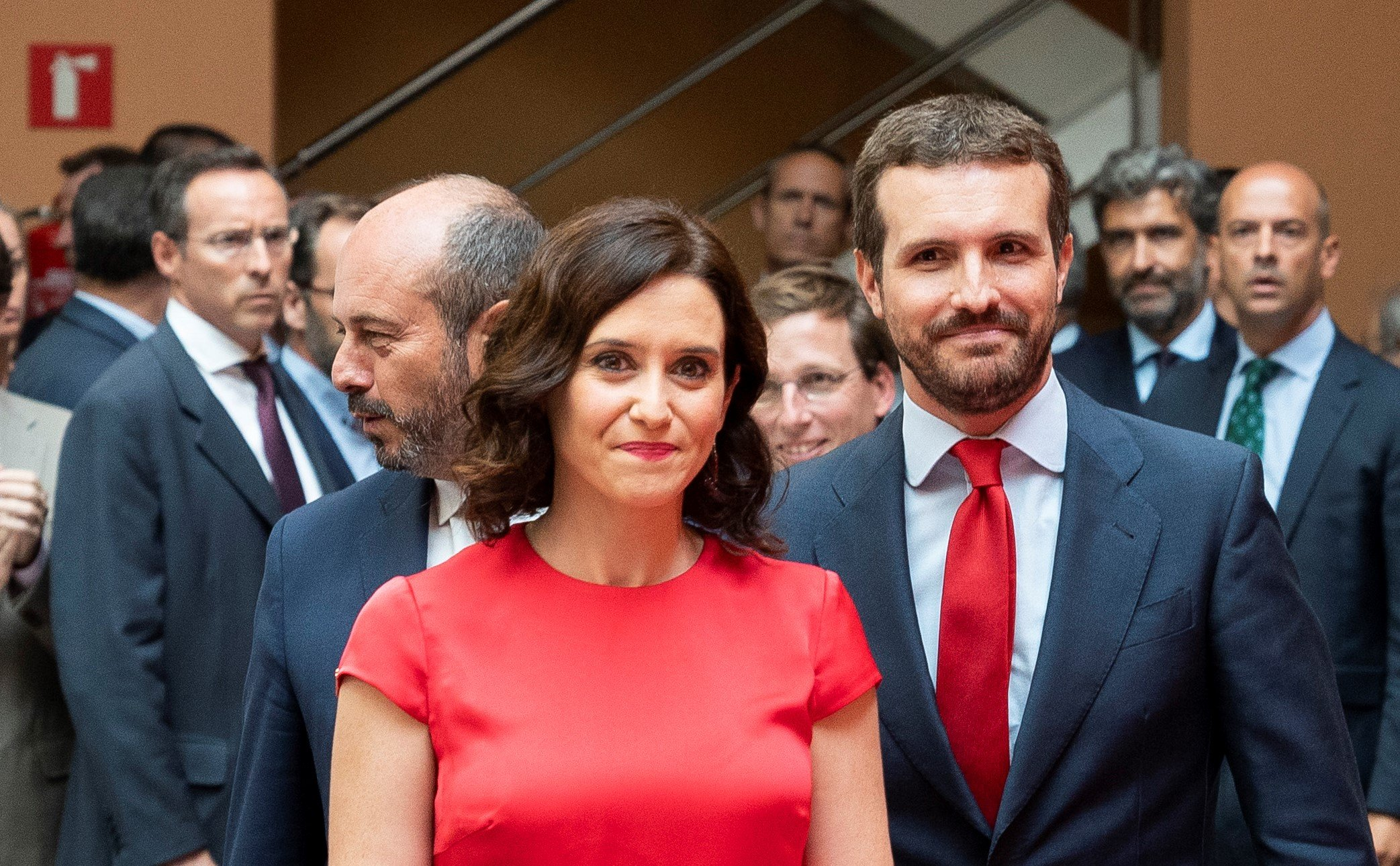 Comienza la legislatura de Isabel Díaz Ayuso
