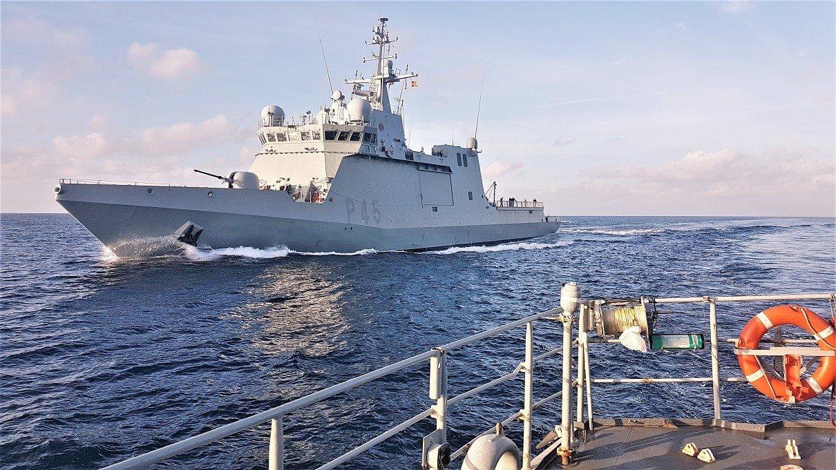 España envía un buque de la Armada para buscar a los migrantes del Open Arms