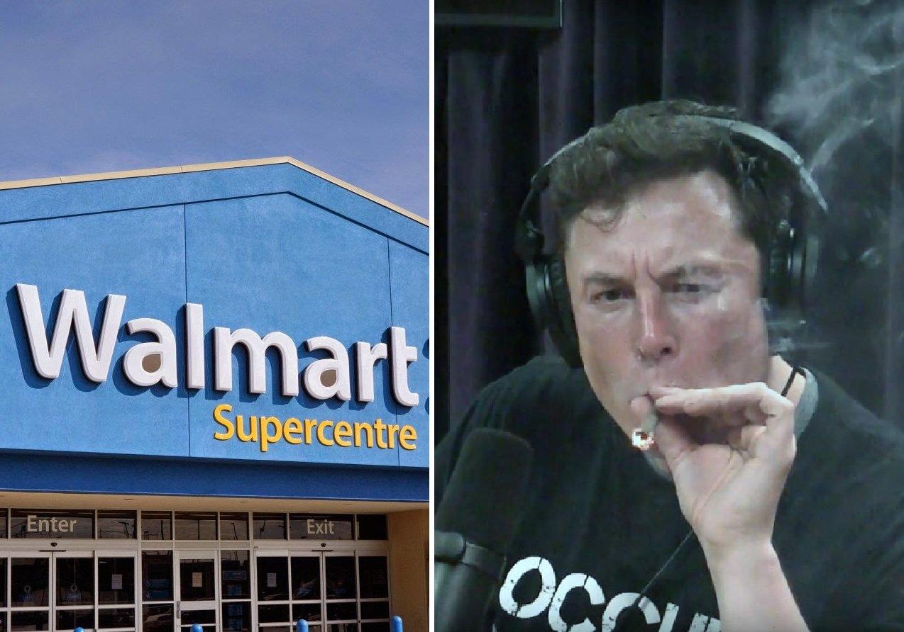 ¿Habrá alguna relación entre los incendios de las placas solares de Walmart y la marihuana que se fuma Elon Musk?