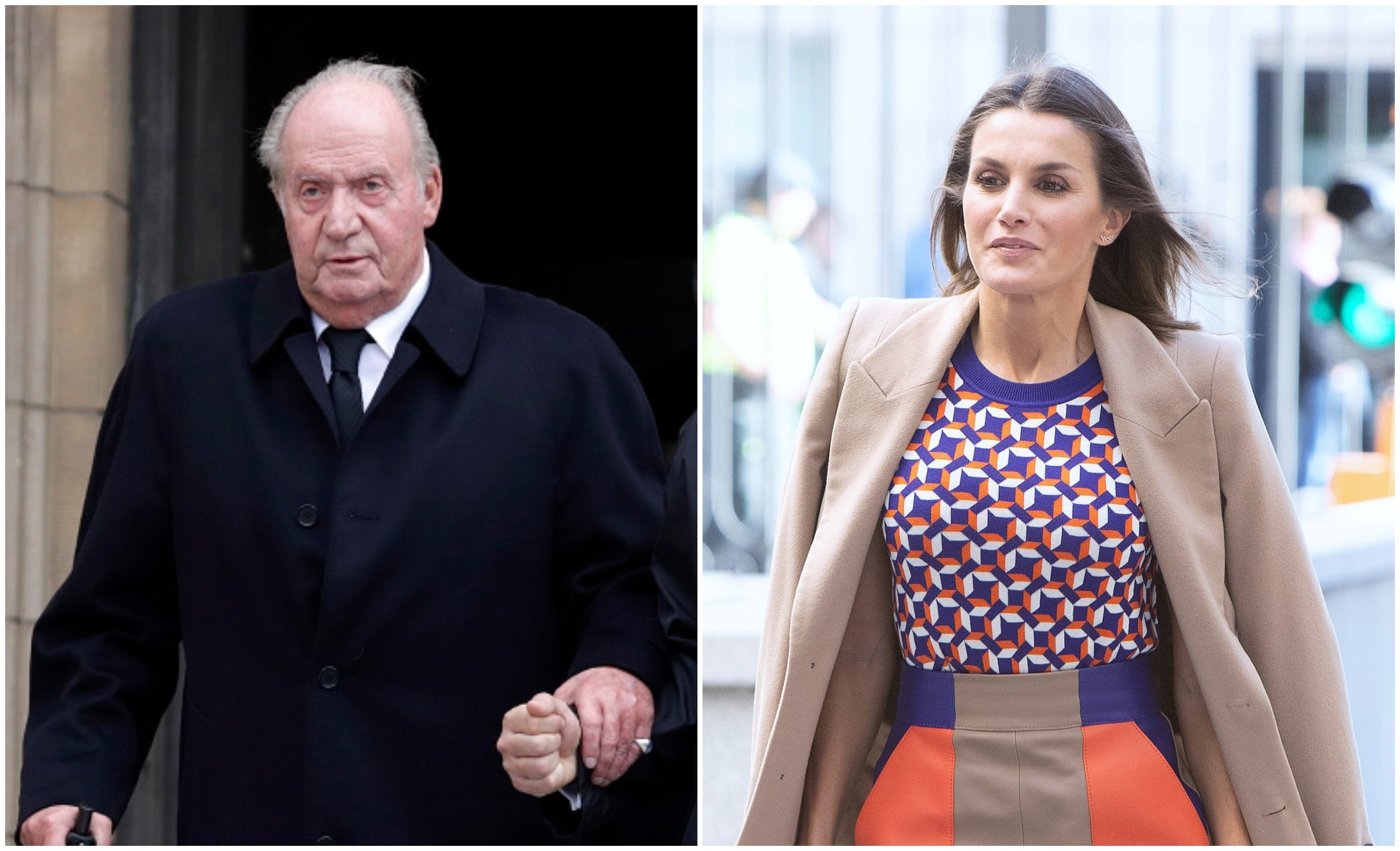 Juan Carlos preocupa, pero el problema de Casa Real es Letizia