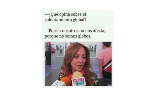 meme calentamiento global