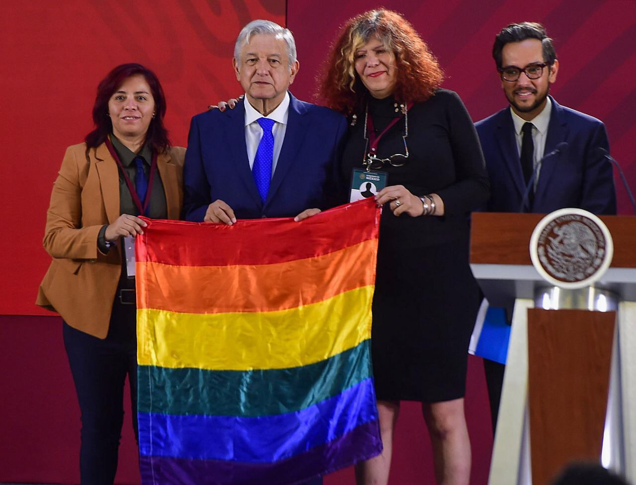 Andrés Manuel López Obrador, 'gay friendly'
