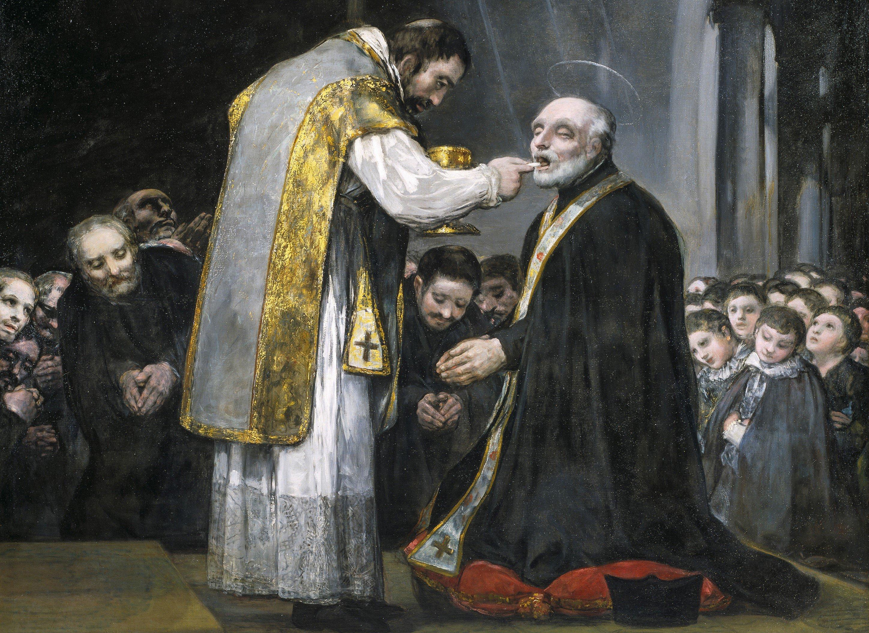 La última comunión de san José de Calasanz, de Goya