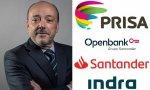 Javier Monzón es actualmente presidente no ejecutivo de PRISA y de Openbank, y consejero de Santander, pero presidió Indra entre 2003 y 2015