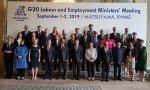 Reunión de los ministros de Empleo del G-20