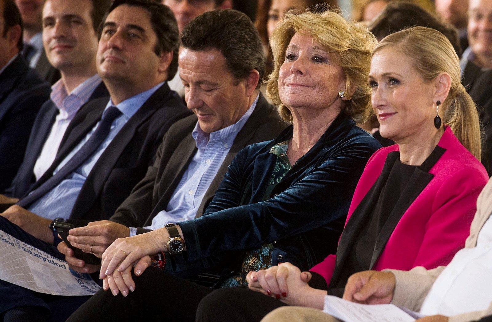 Esperanza Aguirre y Cristina Cifuentes, imputadas por el juez Manuel García Castellón