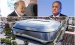 Slim se cabrea con Florentino  la obra del Bernabéu es una ruina para FCC