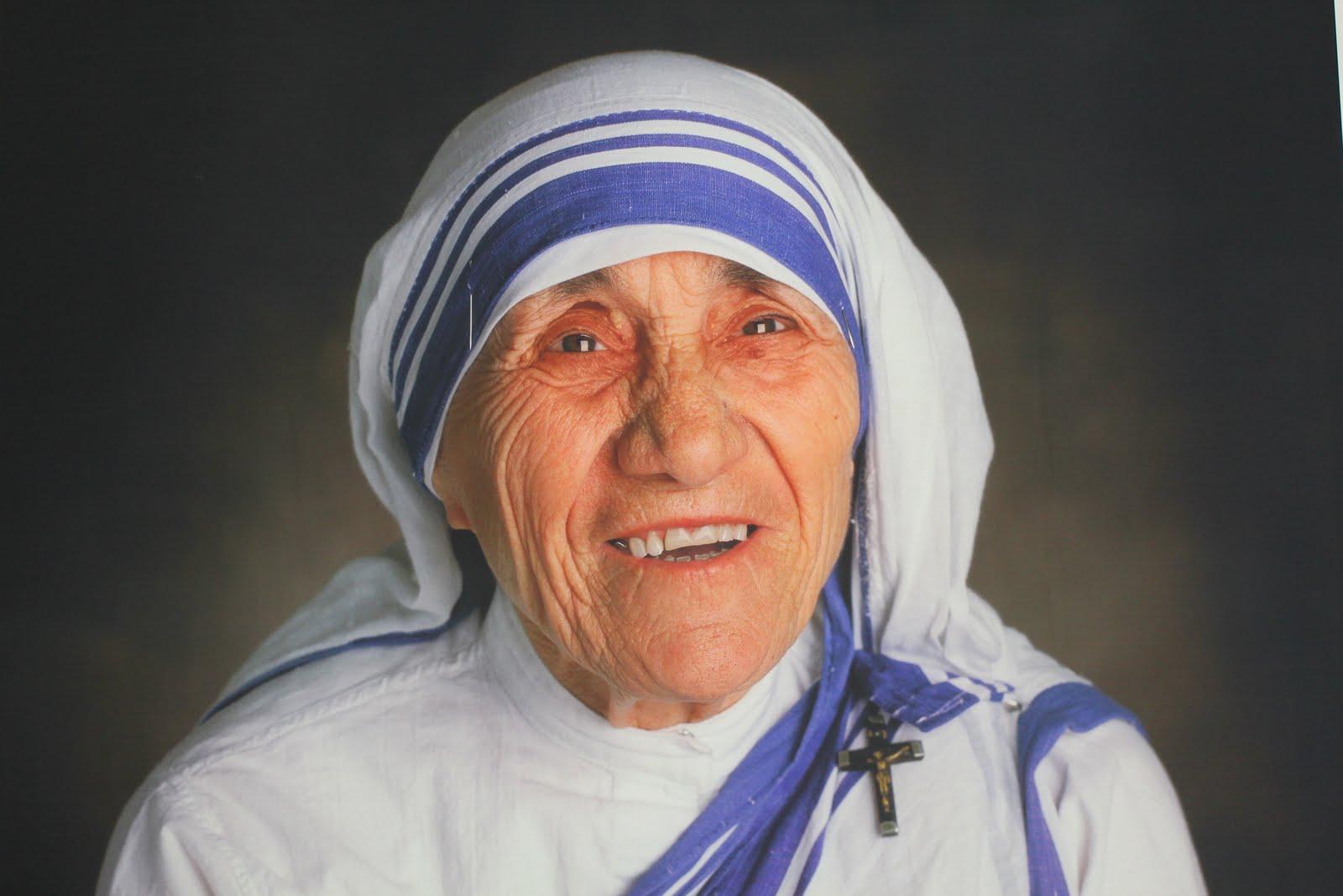 Teresa de Calcuta. Lo más duro de la miseria es el olor