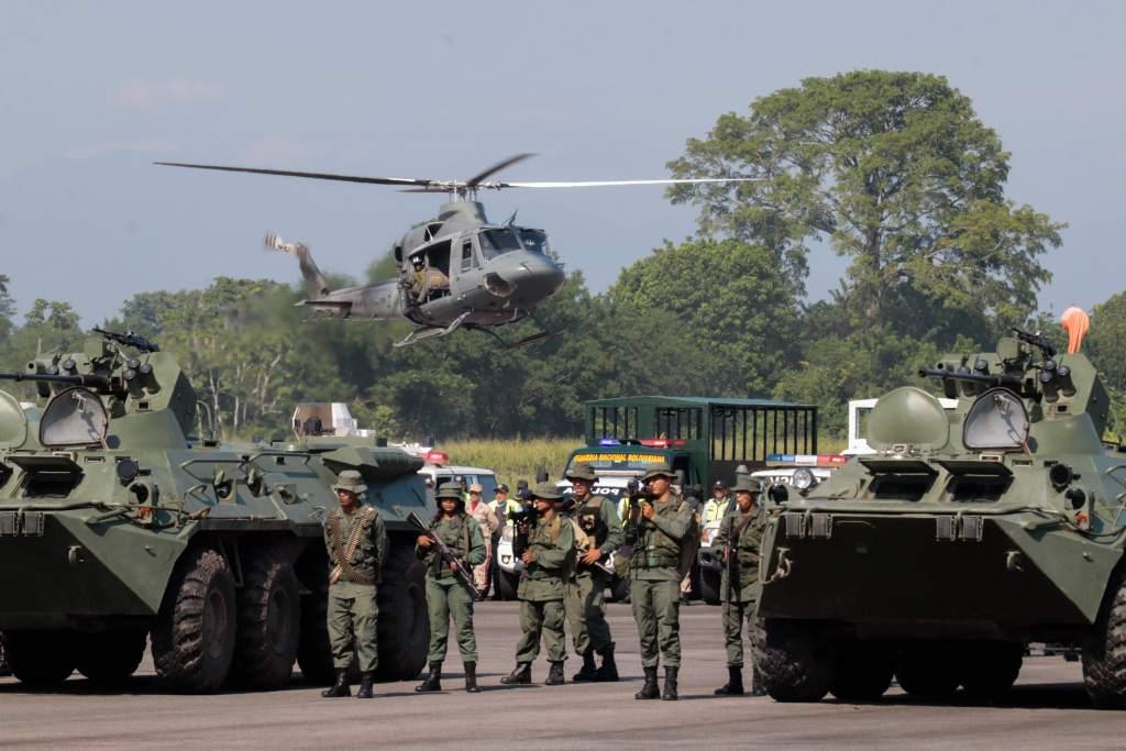 Maniobras venezolanas