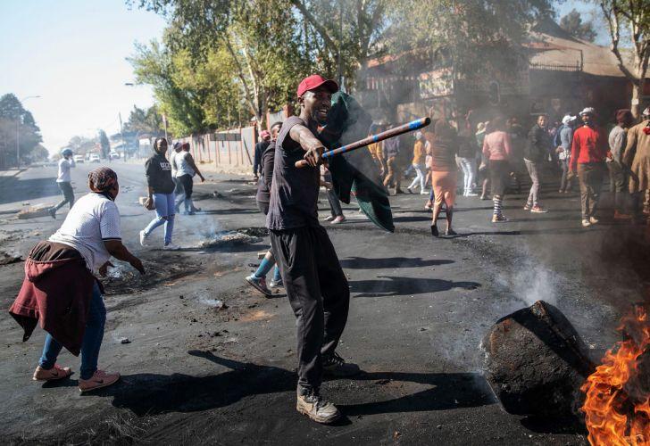 Xenofobia en Sudáfrica