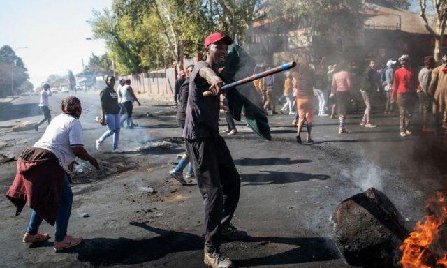 Violencia xenófoba en Sudáfrica