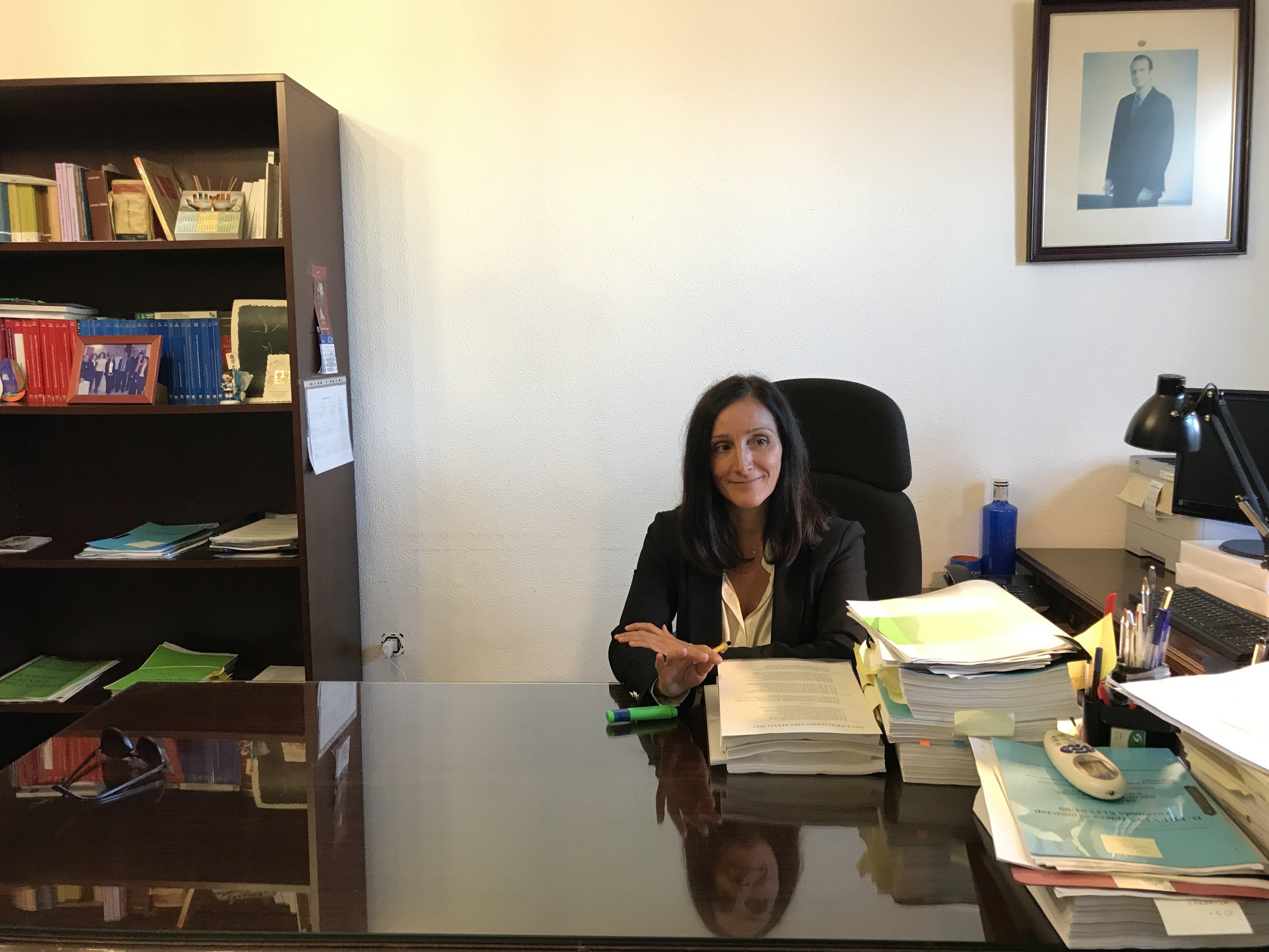 La jueza Bolaños