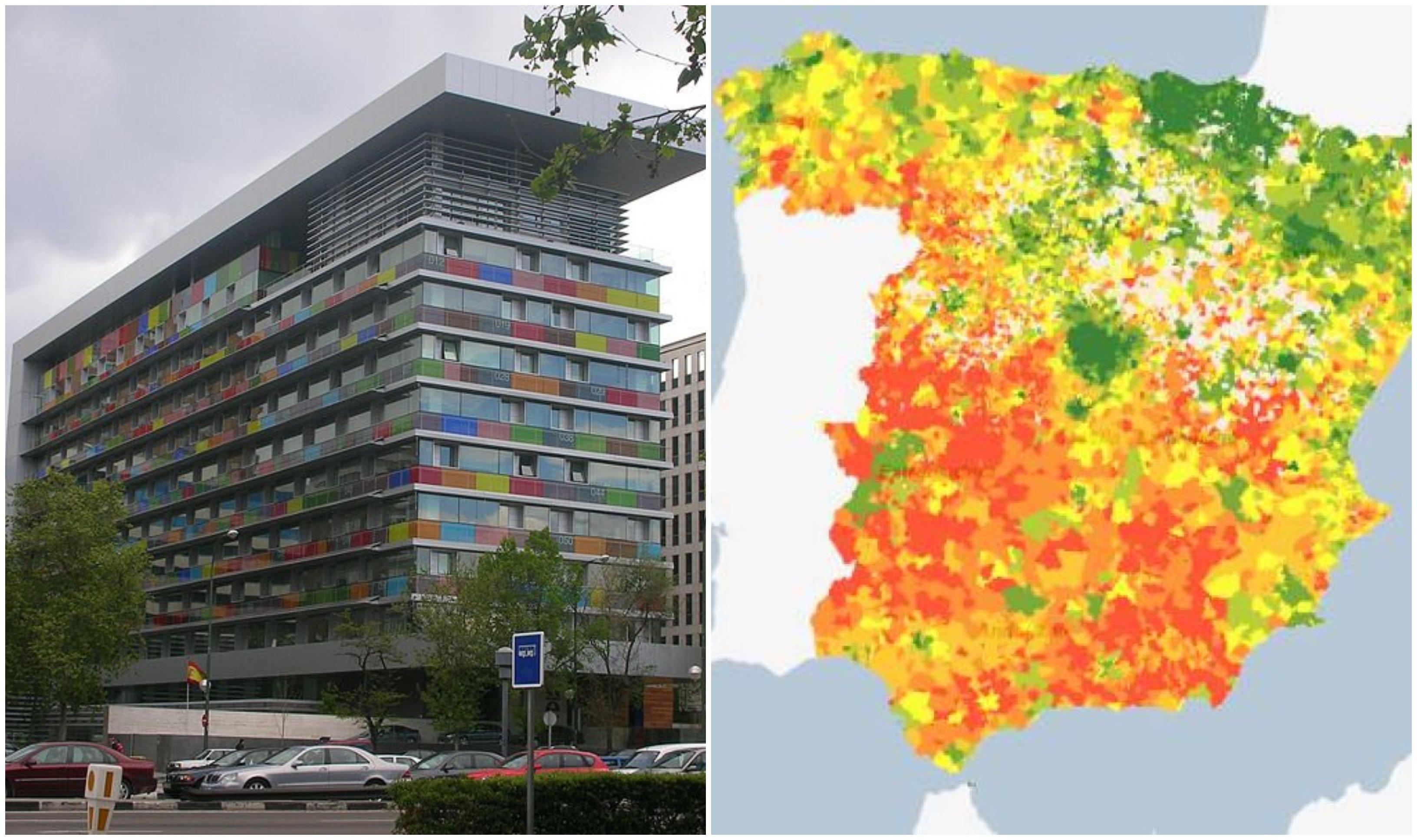 El INE ha desarrollado un Atlas de Distribución de Renta de los Hogares
