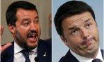 Salvini y Renzi