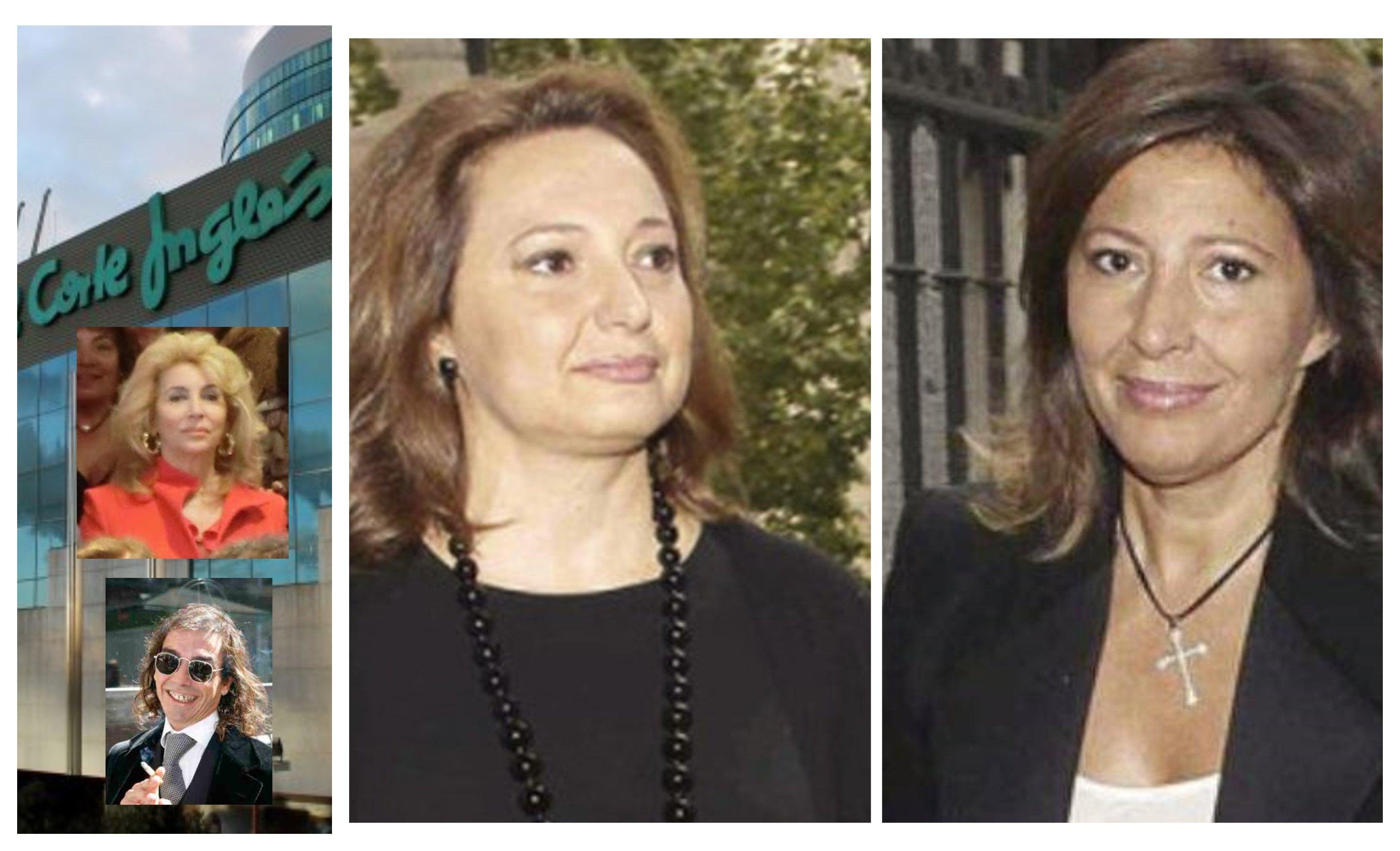 María Antonia Álvarez, César Areces ('Farruquito') y Marta y Cristina Álvarez