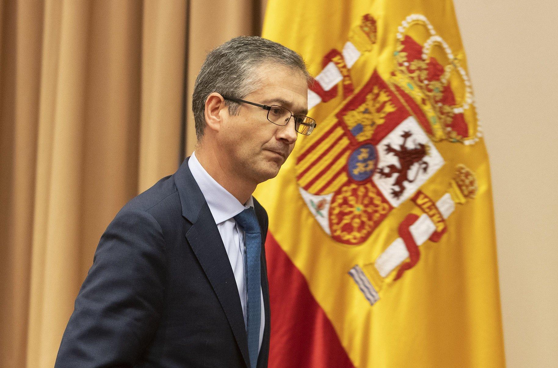 El gobernador del Banco de España, Pablo Hernández de Cos, se desmelena: apoya la reforma laboral y critica la subida del salario mínimo