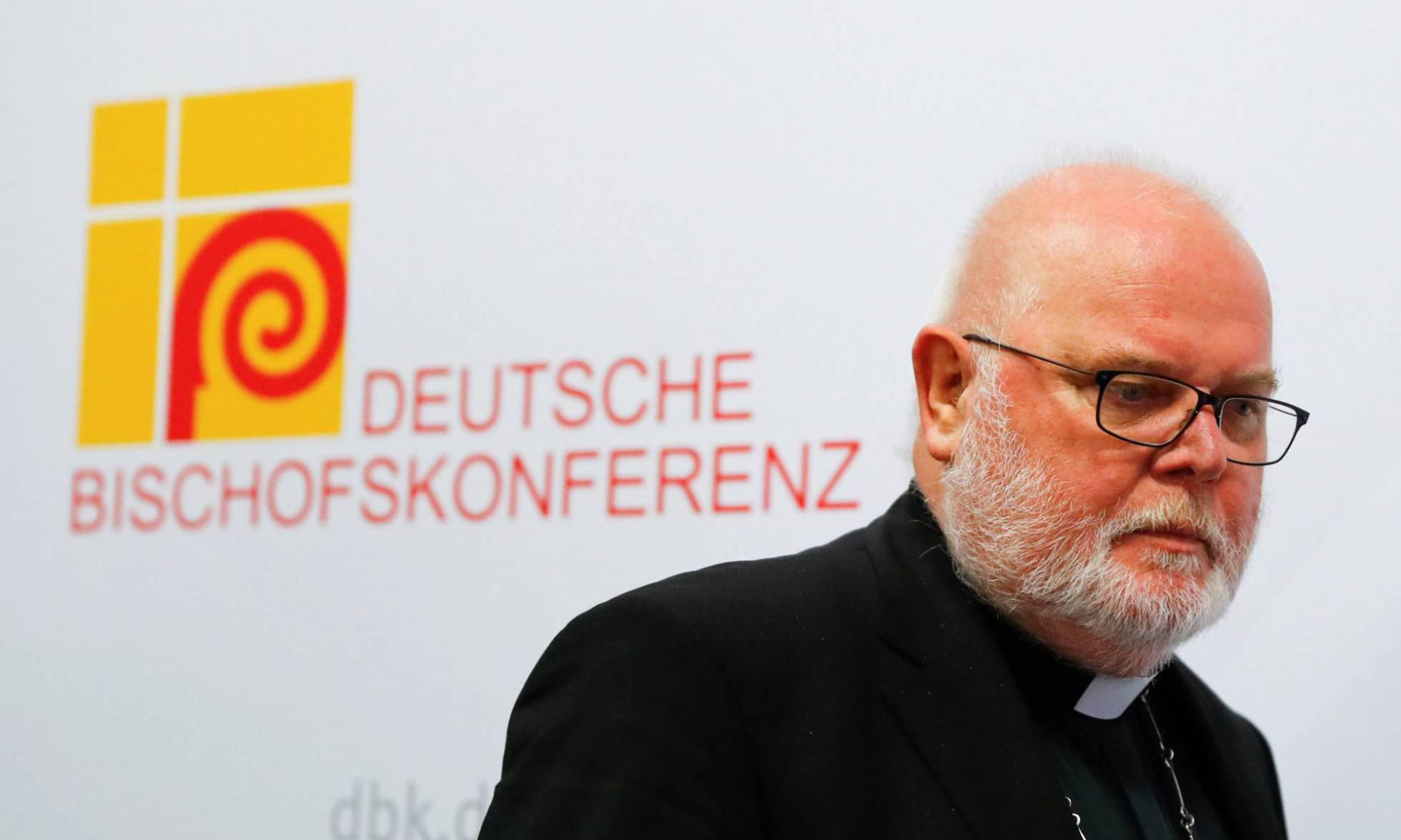 Reinhard Marx, cardenal arzobispo de Munich y presidente de la conferencia episcopal alemana