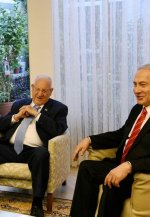 Netanyahu y Rivlin