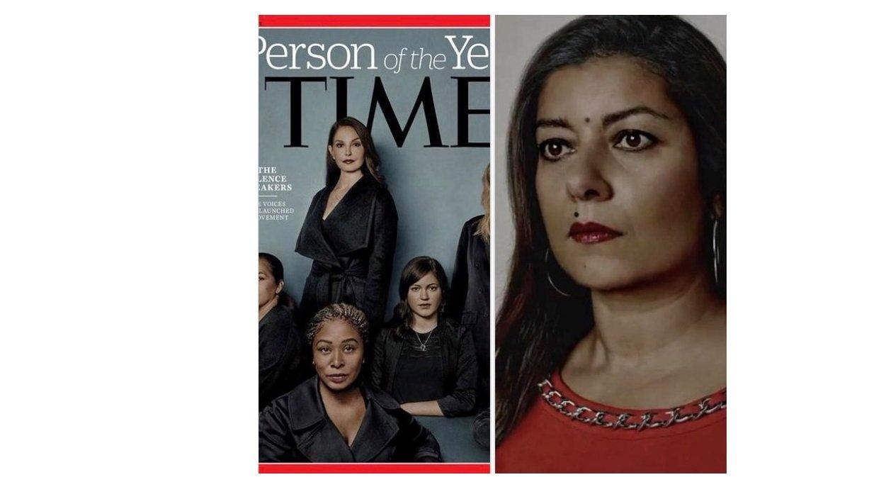 Sandra Muller y la portada de la revista 'Time'
