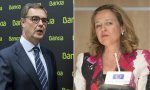 José Sevilla promete dividendos generosos en Londres mientras Nadia Calviño pone condiciones a la fusión BBVA-Bankia
