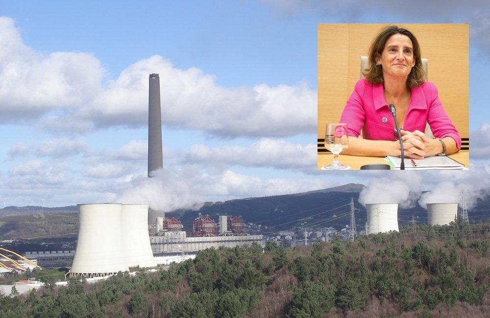 La ministra de Transición Ecológica en funciones se reunirá con los trabajadores de As Pontes y Carboneras el miércoles