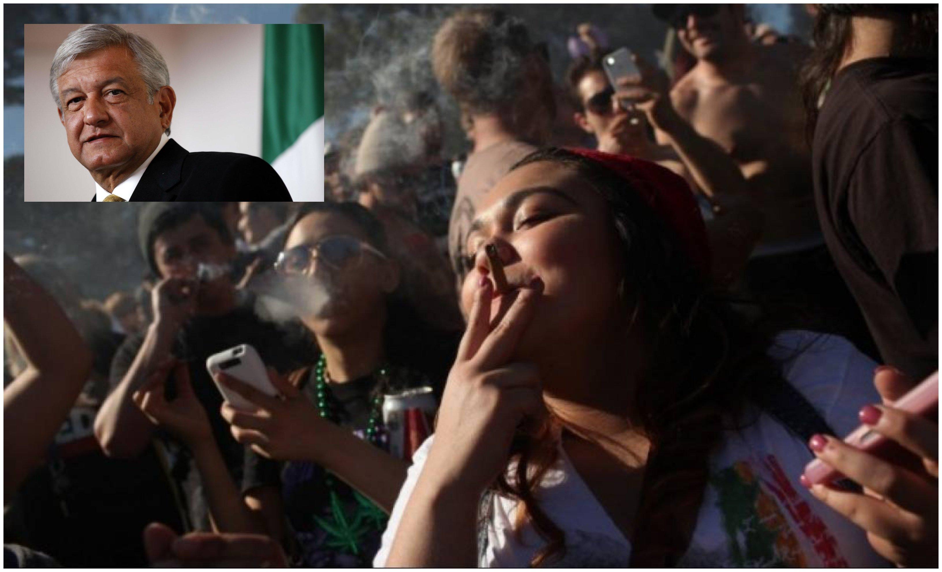 México. López Obrador pretende legalizar, y estatizar, la marihuana