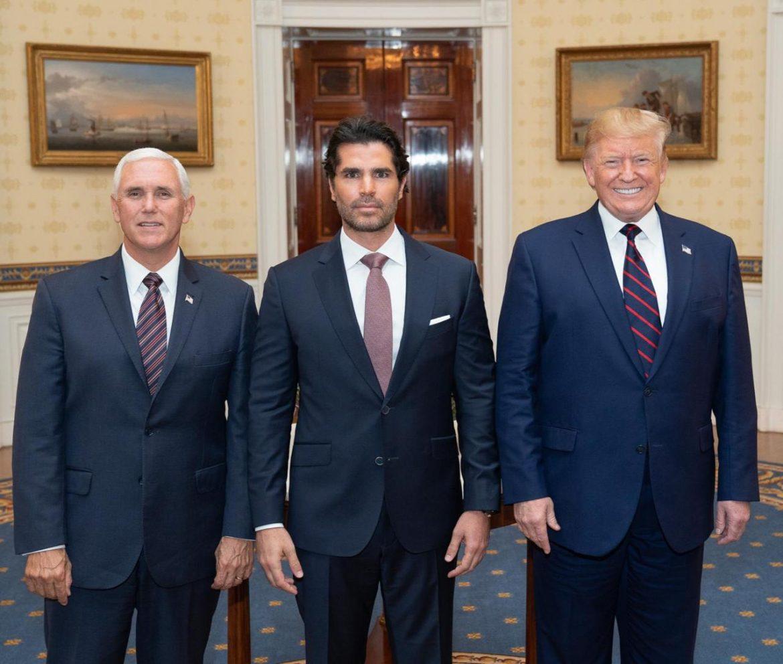 Verástegui se reunió con Trump y Pence