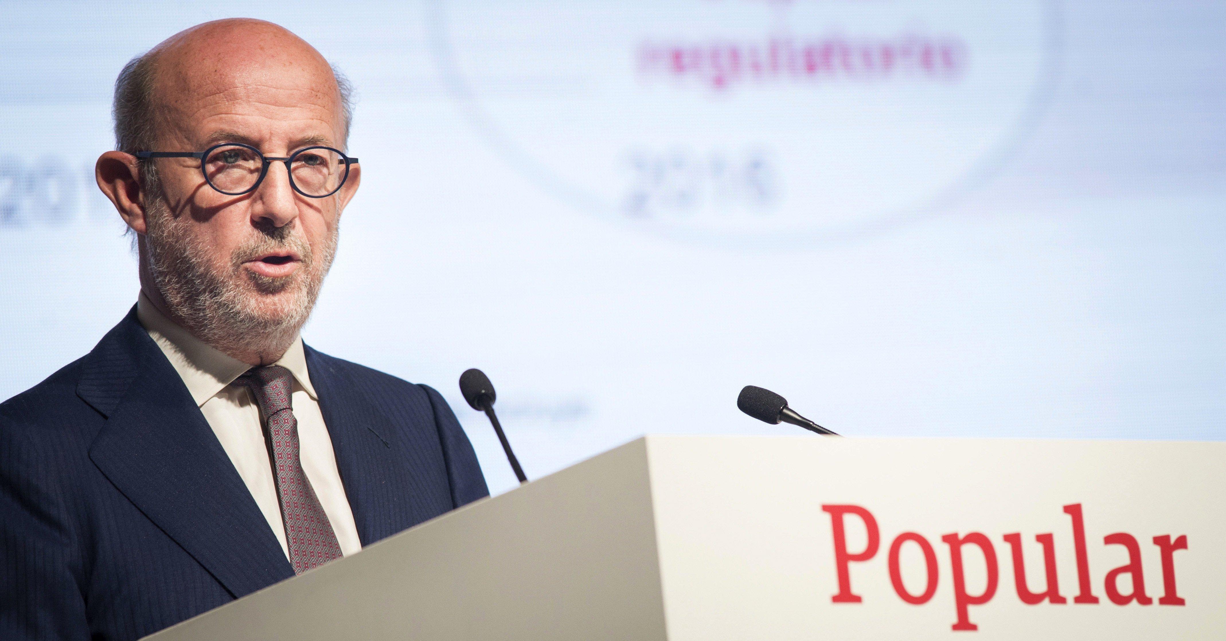 El ex presidente del Banco Popular, Emilio Saracho, es un banquero económico con la verdad