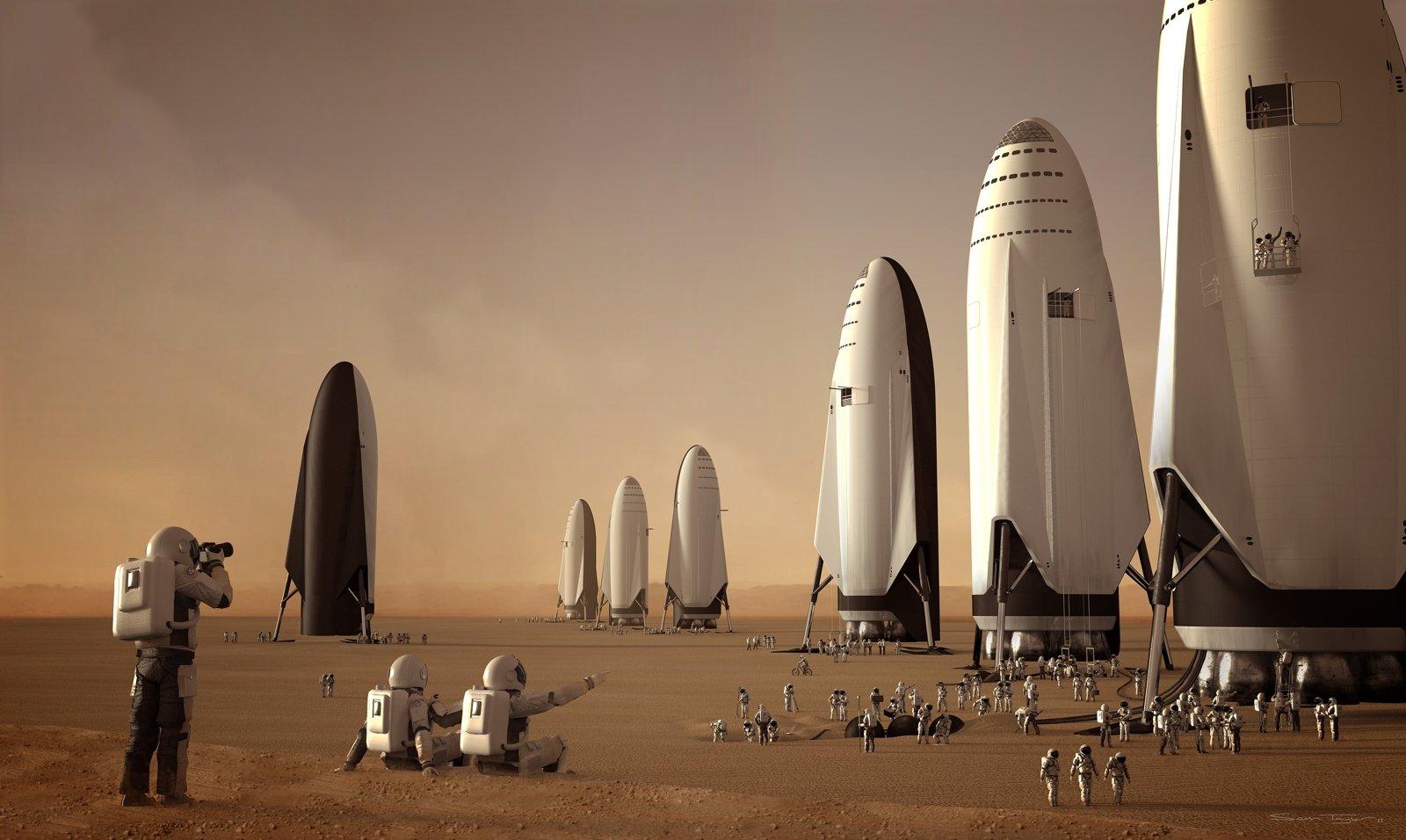 Viajemos a Marte en el Space X de Elon Musk
